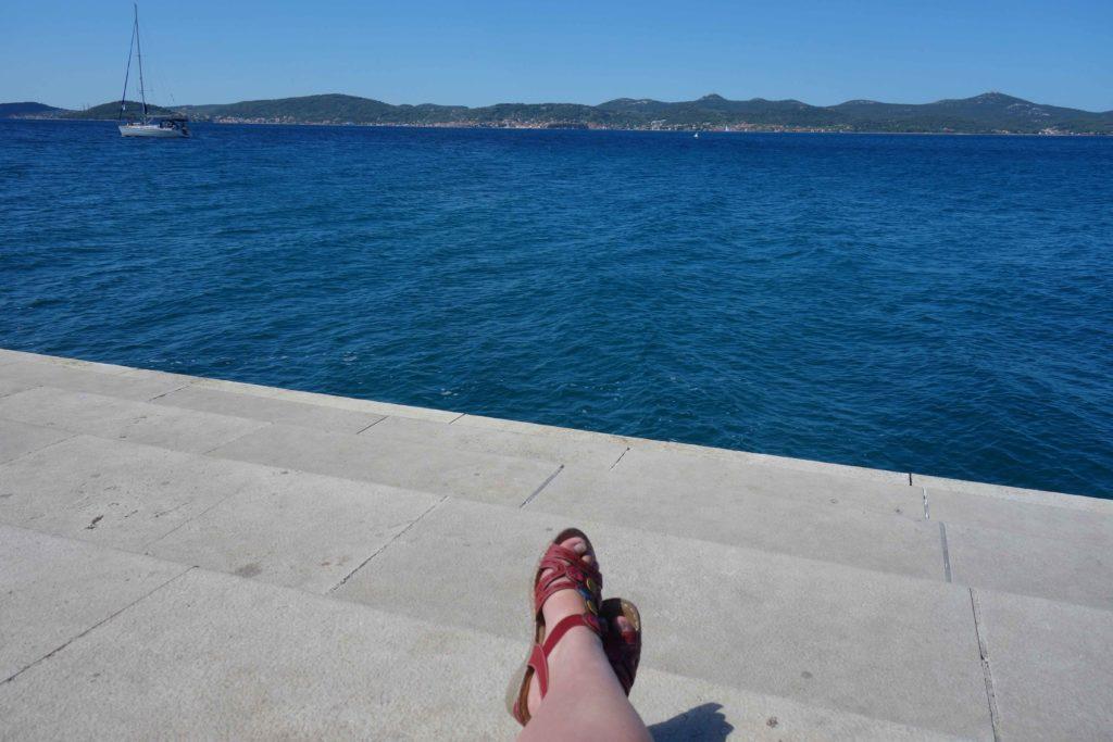 Meeresorgel von Zadar