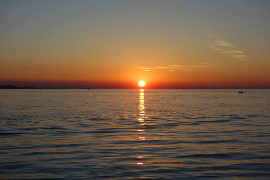 Sonnenuntergang von Zadar