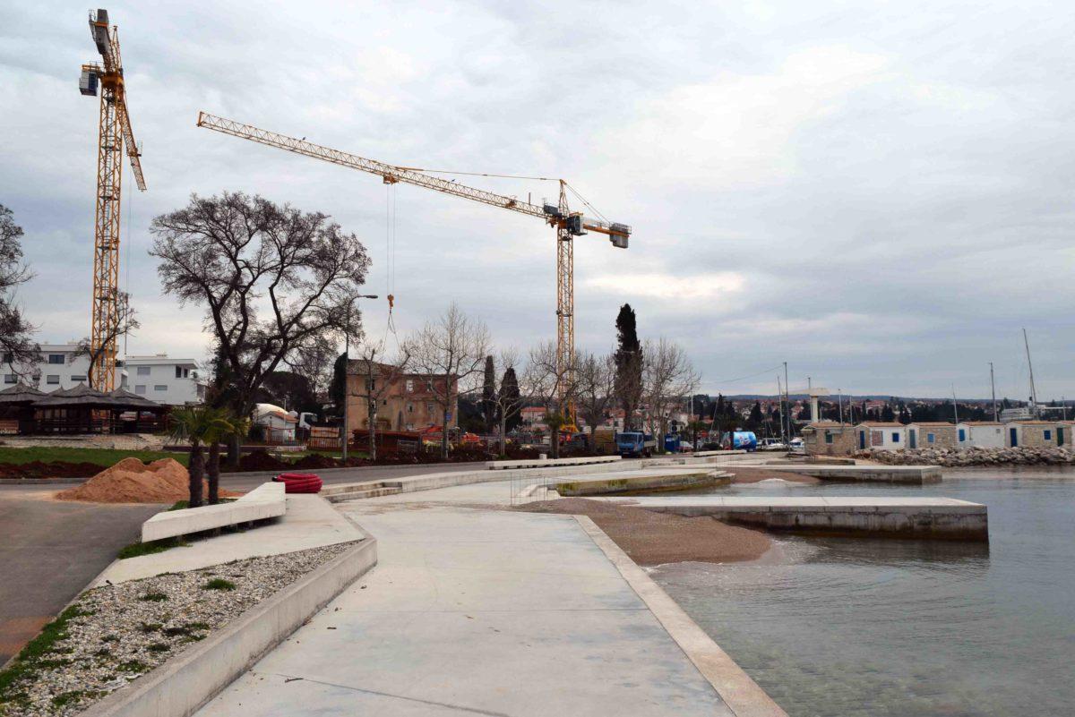 Bausünden in Malinska auf Krk