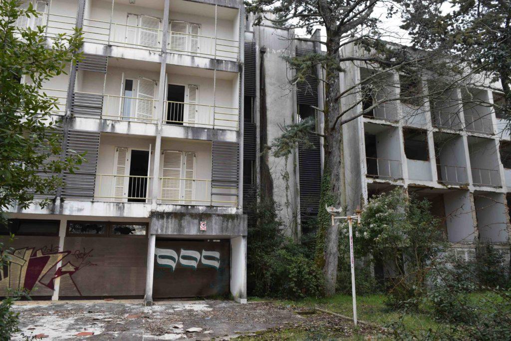 Hotelruine in Malinska auf Krk