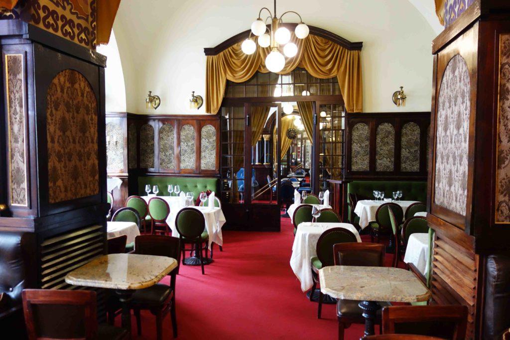 Restaurant Noworolski Krakau