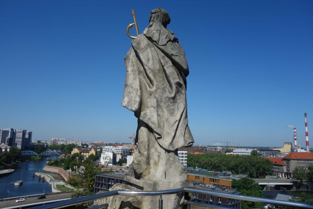 Aussicht vom Turm der Universität Breslau