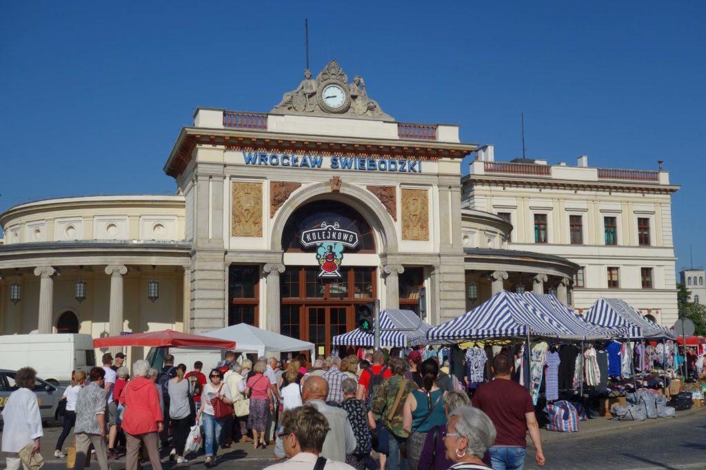 Bahnhof Wroclaw Swiebodzki