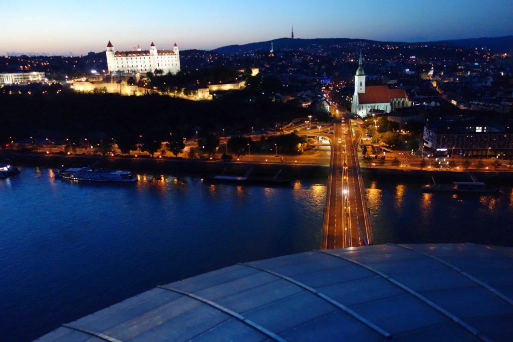 Aussichtsplattform UFO Bratislava