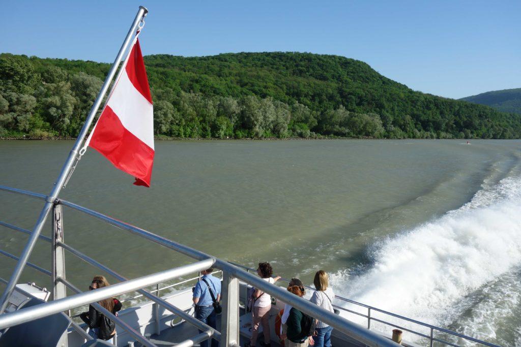 Bootsfahrt Bratislava Wien