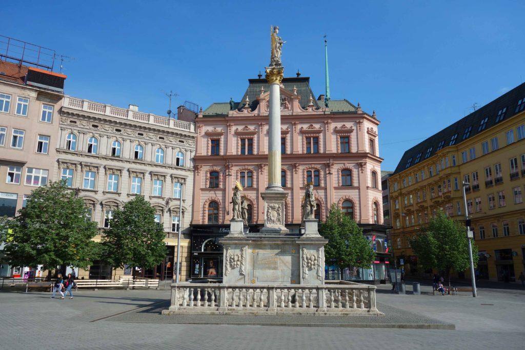 Freiheitsplatz in Brünn