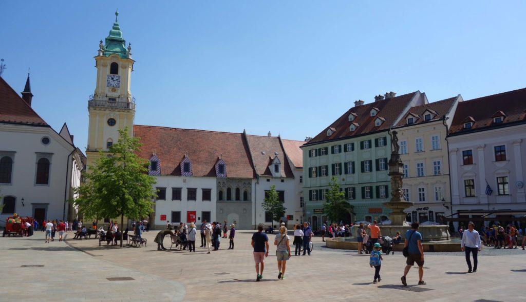 Hauptplatz in Bratislava