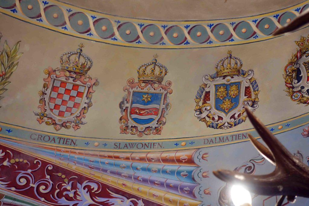 Deckengemälde Konditorei Kormuth Bratislava