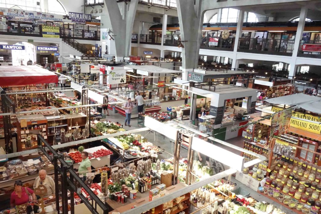 Markthalle von Breslau