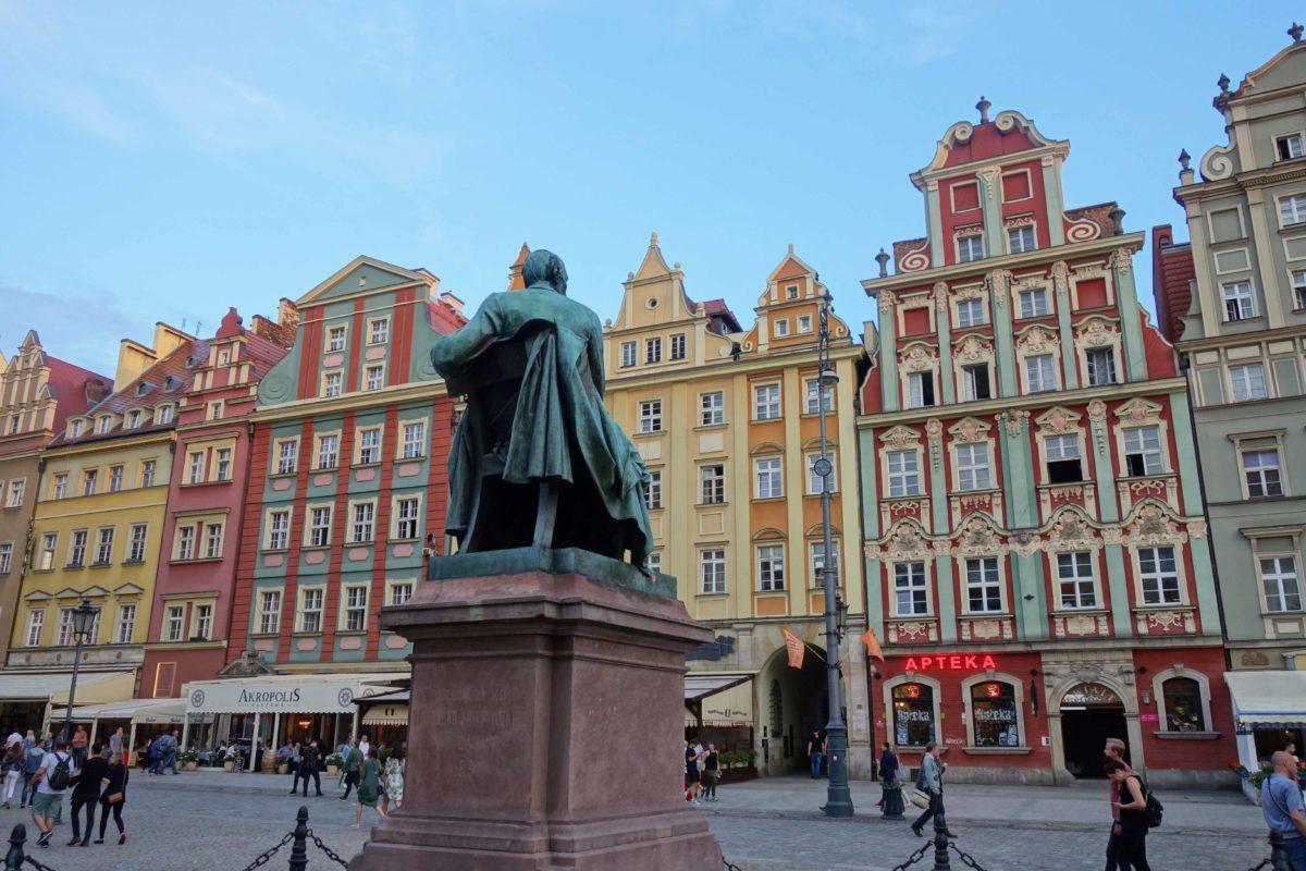 Ein sonniges Wochenende in Breslau