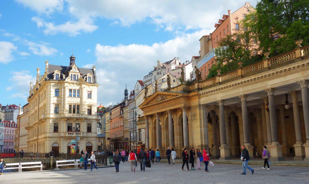 Karlsbad: mondäner Kurort in Tschechien