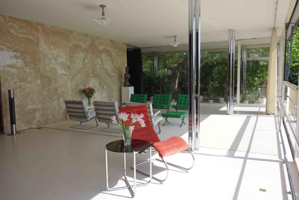 Wohnzimmer der Villa Tugendhat