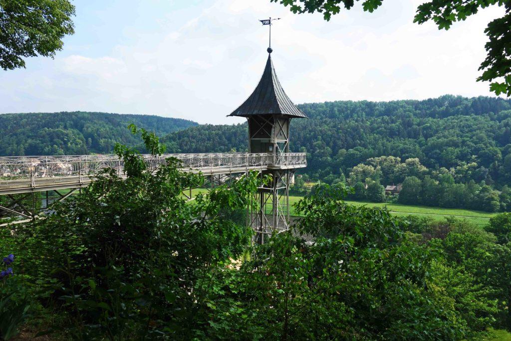 Historischer Personenaufzug Bad Schandau