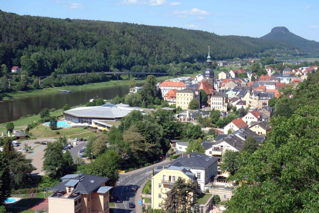 Bad Schandau, sächsische Schweiz
