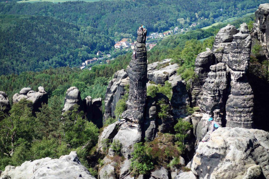 Kletterfelsen Schrammsteine