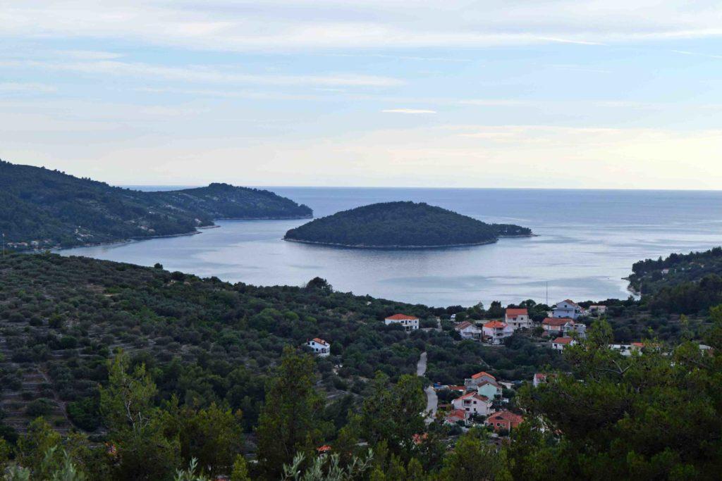 Aussicht über Vela Luka