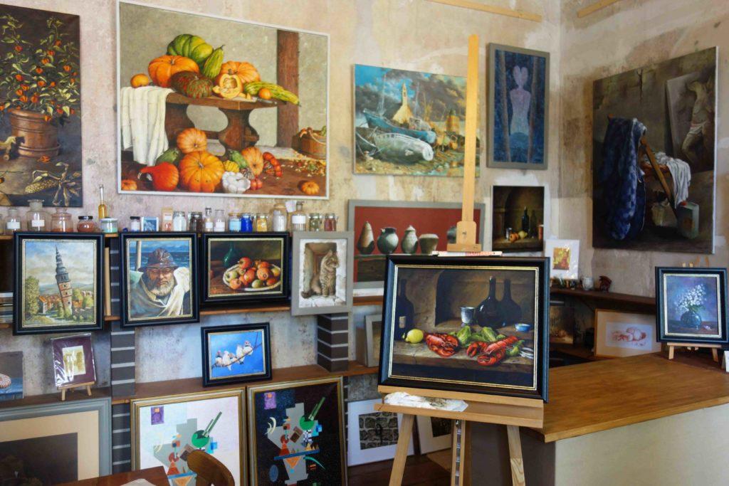 Kunst im Lendelhaus in Werder Havel