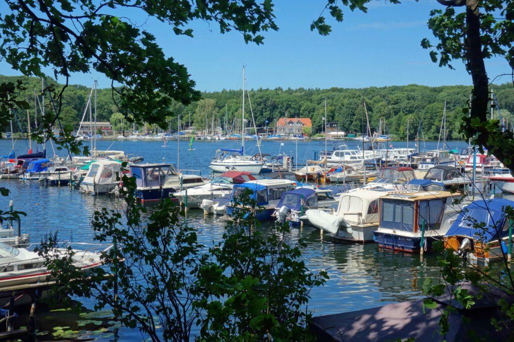 Segelboote am Tegeler See