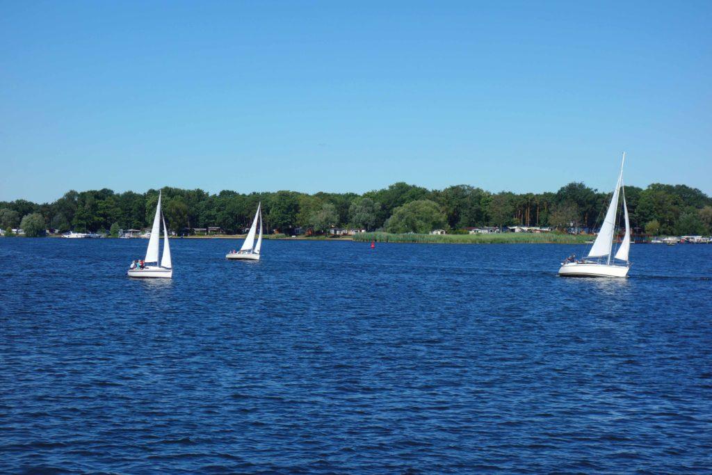 Segeln auf dem Templiner See