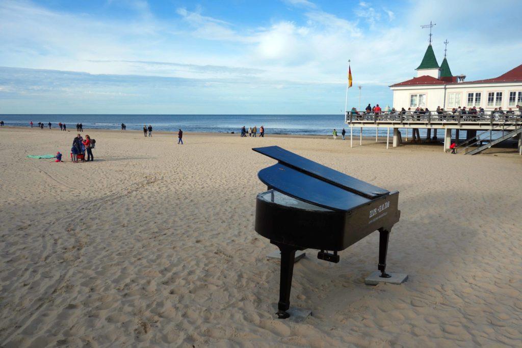 Strand von Ahlbeck auf Usedom