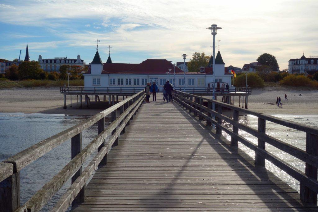 Seebrücke Ahlbeck auf Usedom