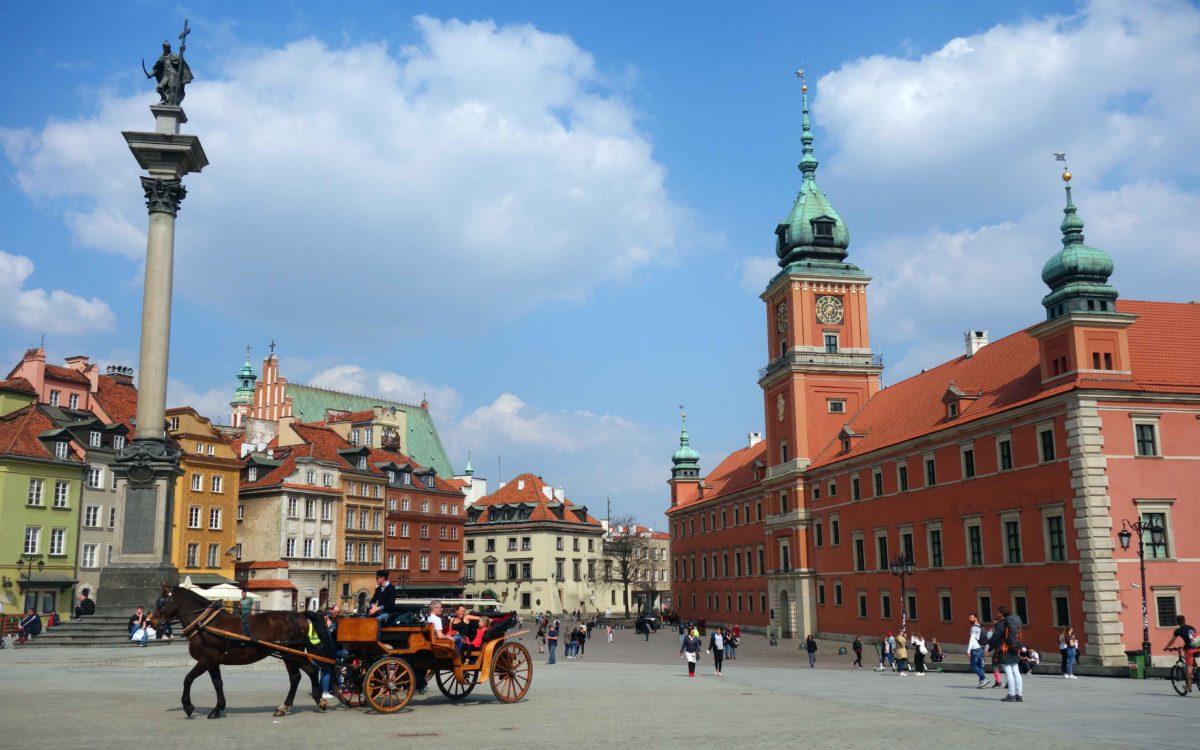 Warschau: ein Phönix aus der Asche