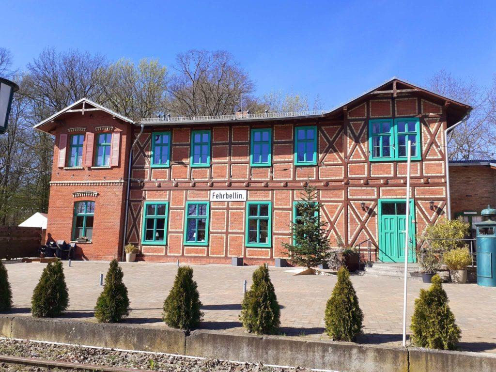 Alter Bahnhof Fehrbellin, Fontane Radweg