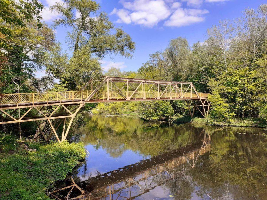 Brücke über den Zehlendorfer Stichkanal