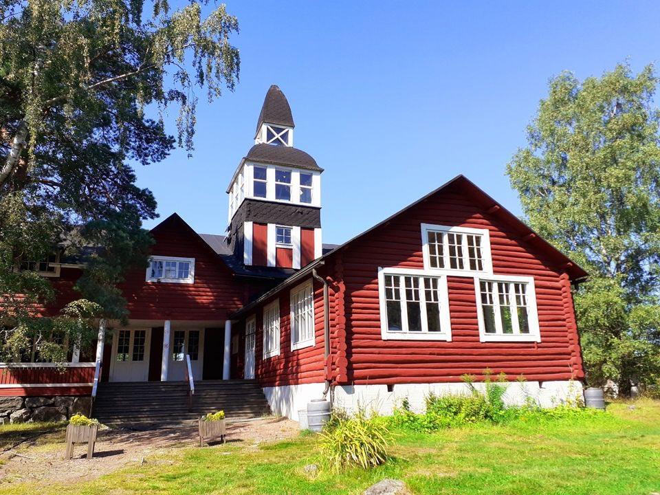 Finnisches Holzhaus