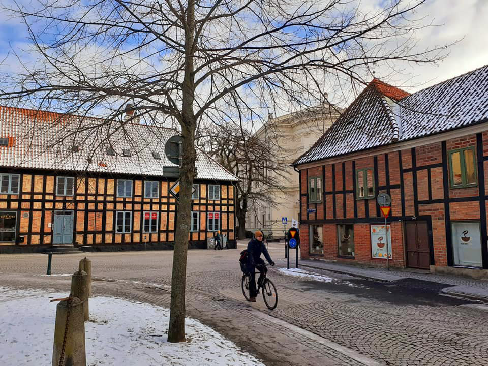 Fachwerkhäuser in Lund
