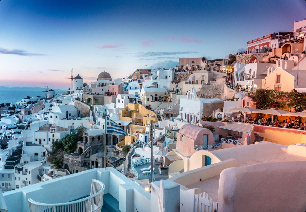 Romantische Stunden in Griechenland