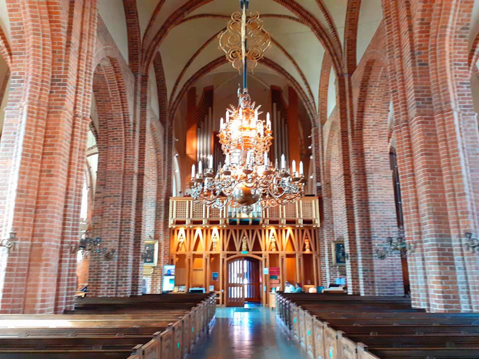 Sankta Maria Kyrka in Helsinborg