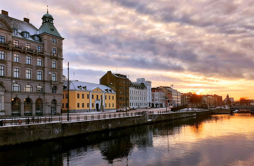 Malmö im Winter