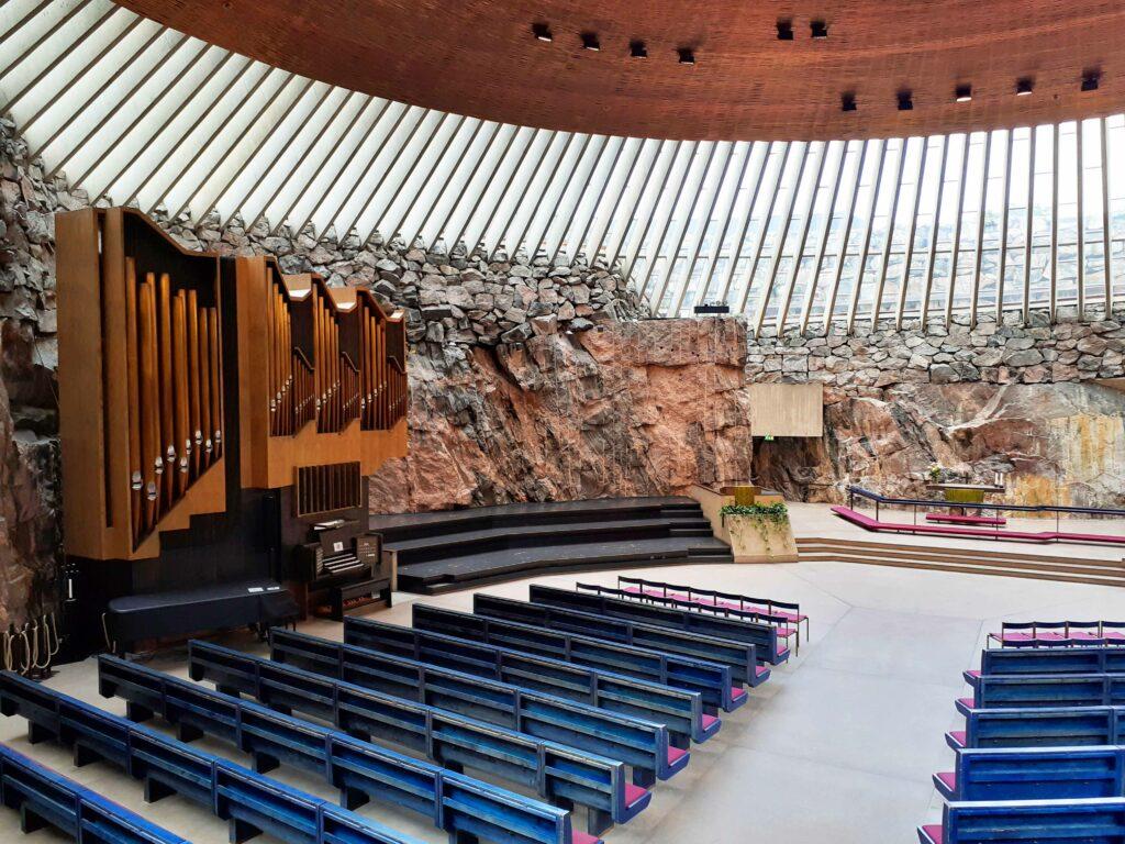 Temppeliaukion Kirkko in Helsinki