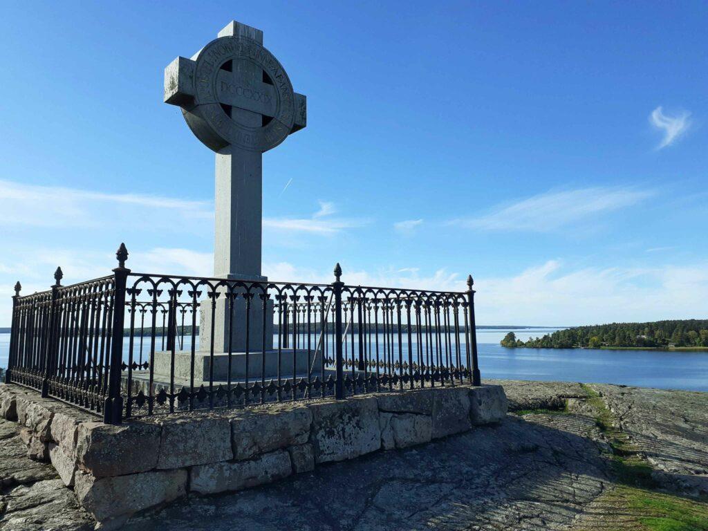 Ansgarkreuz auf Björkö