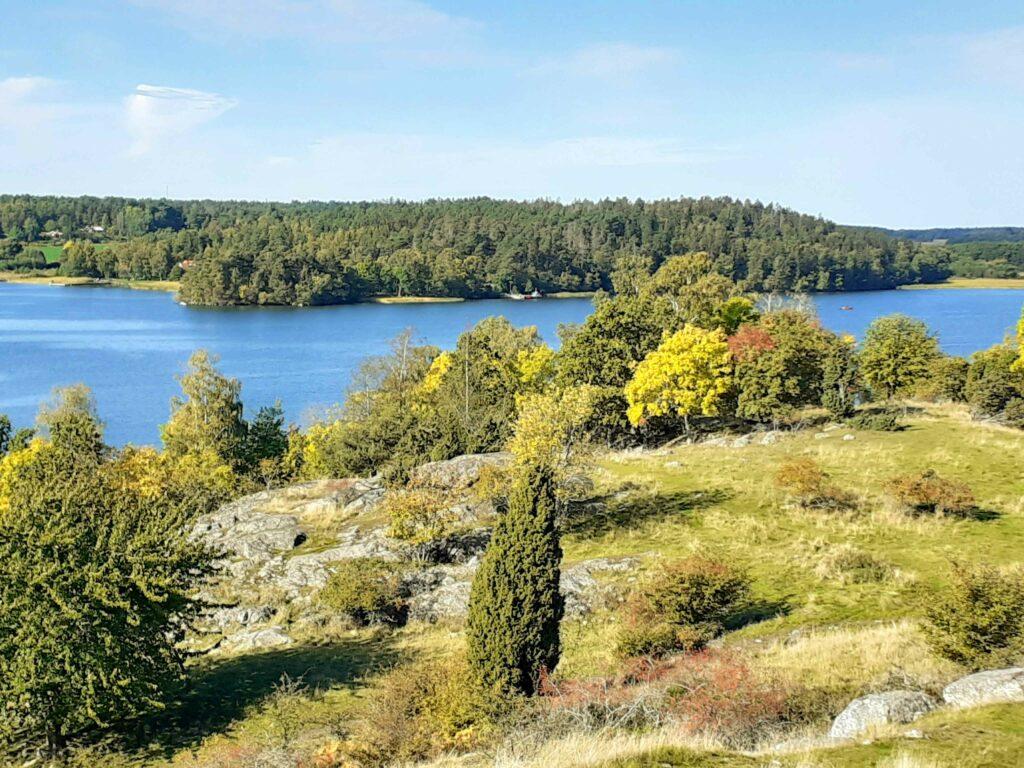 Aussicht von Birka nach Adelsö